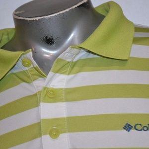 1804 Mens Columbia PFG Polo Shirt Size Large
